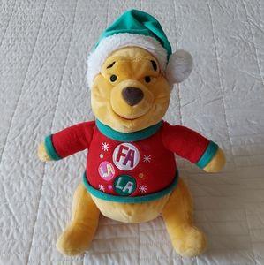 Disney Winnie the Pooh Christmas Bear